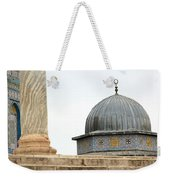 Dome Of The Rock Close Up Weekender Tote Bag