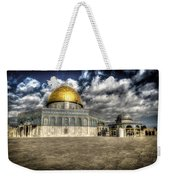 Dome Of The Rock Closeup Hdr Weekender Tote Bag