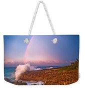 Dominican Rainbow Weekender Tote Bag