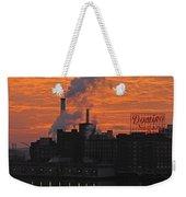 Domino Sugars Sunrise Weekender Tote Bag