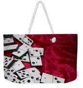 Dominoes Weekender Tote Bag