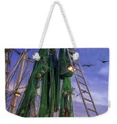 Done Shrimping At Tybee Island Weekender Tote Bag