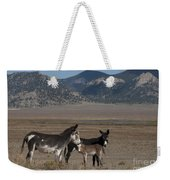 Donkeys In The Colorado Rockies Weekender Tote Bag