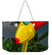 Donna's Bird Says Kiss Me Weekender Tote Bag