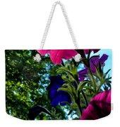 Donna's Blooming Petunias Weekender Tote Bag