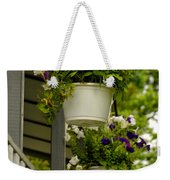 Donna's Petunias Weekender Tote Bag