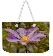 Donna's Purple Flower Weekender Tote Bag