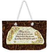 Donna's Special Message Weekender Tote Bag