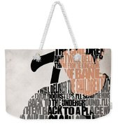 Donnie Darko Minimalist Typography Artwork Weekender Tote Bag