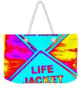 Don't Booze And Cruise Weekender Tote Bag