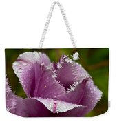 Dont Call Me A Monster Just Because I Have Teeth Purple Tulip Weekender Tote Bag