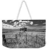 Don't Fence Me In - Black And White Weekender Tote Bag