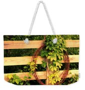 Don't Fence Me In Weekender Tote Bag by Cricket Hackmann