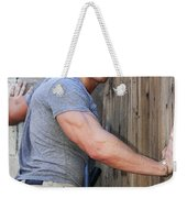 Dont Fence Me In Palm Springs Weekender Tote Bag by William Dey