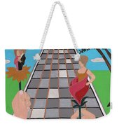 Don't Get Strung Out Weekender Tote Bag