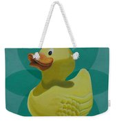 Don't Give A Rubber Duck Weekender Tote Bag