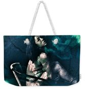 Dont Leave Me To The Night Weekender Tote Bag