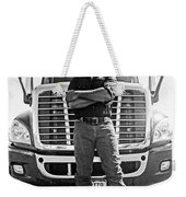 Don't Mess With My Truck Weekender Tote Bag