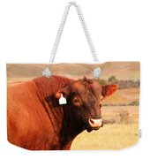 Dont Mess With The Bull Weekender Tote Bag