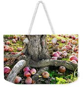 Don't Sit Under The Apple Tree With Anyone Else But Me Weekender Tote Bag