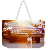 Don't Touch My Ride Weekender Tote Bag