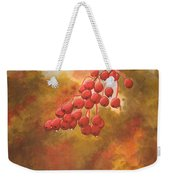 Door County Cherries Weekender Tote Bag by Rick Huotari