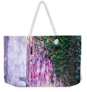 Door Covered In Ivy Weekender Tote Bag