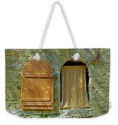 Door In Walkway Wall In Old Town Tallinn-estonia Weekender Tote Bag