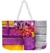 Door - Lavender Weekender Tote Bag by Mike Savad