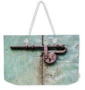 Door Lock Weekender Tote Bag