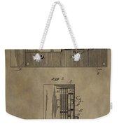 Door Lock Patent Weekender Tote Bag