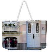 Door Number Six With Window And Plants Weekender Tote Bag