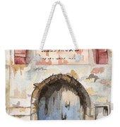 Door Series - Door 4 - Prison Of Apostle Peter Jerusalem Israel Weekender Tote Bag