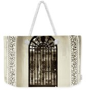 Door With Decorated Arch Weekender Tote Bag