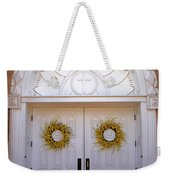 Doors Of San Francisco De Asis Weekender Tote Bag