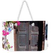 Doorway Oia Santorini Greek Islands Weekender Tote Bag