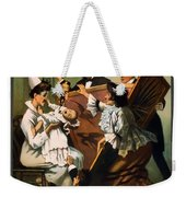 Doping The Baby Weekender Tote Bag by Terry Reynoldson