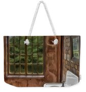 Dormer And Bathroom Weekender Tote Bag by Susan Candelario