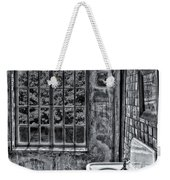 Dormer Bathroom Side View Bw Weekender Tote Bag