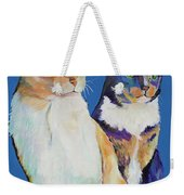 Dos Amores Weekender Tote Bag by Pat Saunders-White