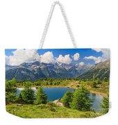 Doss Dei Gembri Lake In Pejo Valley Weekender Tote Bag