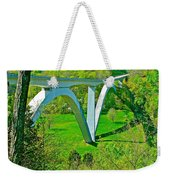 Double-arched Bridge Spanning Birdsong Hollow At Mile 438 Of Natchez Trace Parkway-tennessee Weekender Tote Bag