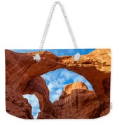 Double Arches Weekender Tote Bag