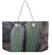 Double Barrel Saguaro Weekender Tote Bag
