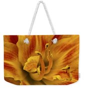 Double Daylily Weekender Tote Bag