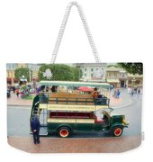 Double Decker Bus Main Street Disneyland 02 Weekender Tote Bag