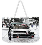Double Decker Bus Main Street Disneyland Sc Weekender Tote Bag