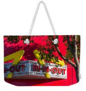 Double Double With Cheese Animal Style Yum Weekender Tote Bag