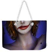Double Face Weekender Tote Bag by Alessandro Della Pietra