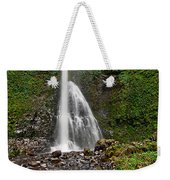 Double Falls In Silver Falls State Park In Oregon Weekender Tote Bag